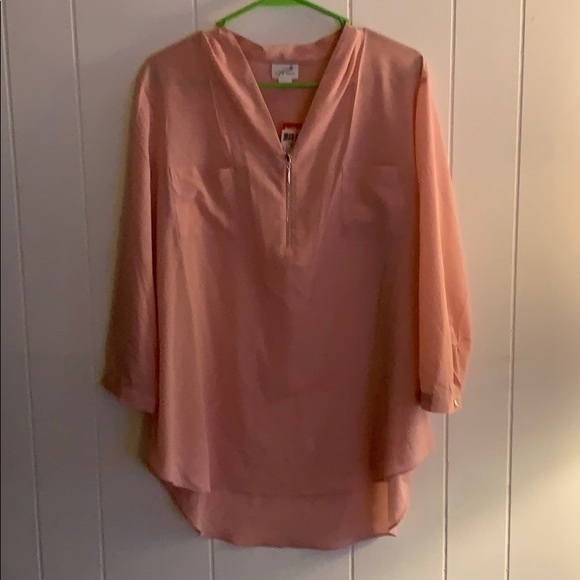 f1a66838a19 Jaclyn Smith Tops | Nwt Pink Dress Shirt | Poshmark
